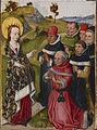 Flemish - Saint Catherine Converting the Scholars - Walters 372487.jpg