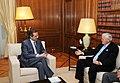 Flickr - Πρωθυπουργός της Ελλάδας - Αντώνης Σαμαράς - Πρόεδρος Γερουσίας Καναδά.jpg