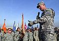 Flickr - The U.S. Army - Sgt. Maj. of the Army Preston visits 4th Combat Aviation Brigade, Camp Taji (2).jpg