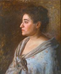 Portrait of Florence Einstein