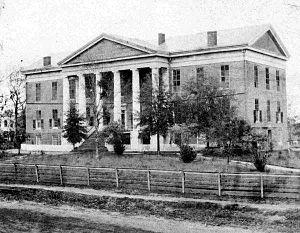 History of Tallahassee, Florida - Florida Capitol Building 1845
