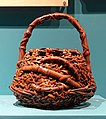 Flower basket (hanakago), Japan, 1800s-1900s, bamboo - Fowler Museum - University of California, Los Angeles - DSC02352.jpg