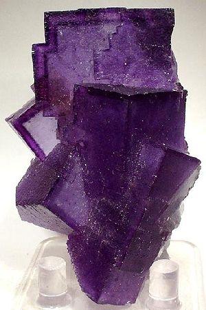 Hardin County, Illinois - Fluorite mineral specimen from Hardin County