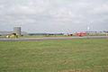 Fokkers D.VIII Dr.I D.VII Taxi out past Nieuport 23 wide Dawn Patrol NMUSAF 26Sept09 (14413490057).jpg
