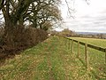 Footpath near Blagdon Hill - geograph.org.uk - 1197331.jpg