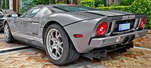 Ford Gt Tungsten Limited Edition Monaco