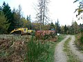 Forestry machinery - geograph.org.uk - 610393.jpg