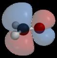 Formaldehyde-LUMO-transparent-3D-balls.png