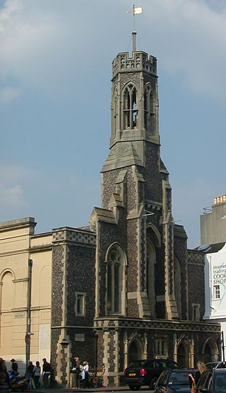 Chapel Royal, Brighton - The Holy Trinity Church came close on three occasions to being included within the Chapel Royal's parish; when it closed, its congregation transferred to the Chapel Royal.