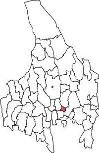 Forshaga købstad i Värmlands amt