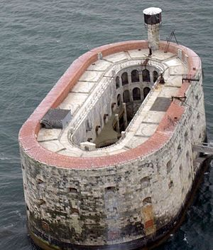 Fort Boyard: Ultimate Challenge - Fort Boyard from the air