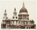 Fotografi av St. Paul's Cathedral. London, England - Hallwylska museet - 105924.tif