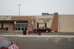 Four Corners Regional Airport entrance, February 2019.jpg