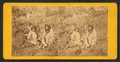 Four native Americans sitting on a hill, from Robert N. Dennis collection of stereoscopic views.png