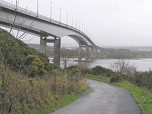 Foyle Bridge - Foyle Bridge, from the Derry city side.