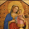 Fra Angelico, Virgin and Child with Saints, ca. 1435, Bode Museum, Berlin (2) (40184493631).jpg