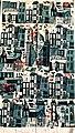 """Fragment of Janet Doub Erickson Blockhouse Drapery Print -- """"Salem, Massachusetts"""".jpg"""