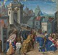 Français 5594, fol. 11, Charlemagne at Constantinople.jpeg