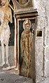 Francesco zacchi detto il balletta, madonna in trono col bambino, il battista e una committente, sangue di cristo dell'eucarestia, xv secolo 05.jpg