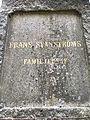 Frans Svanström gravvård Norra Begravningsplatsen kv 8 gravnr 54.jpg