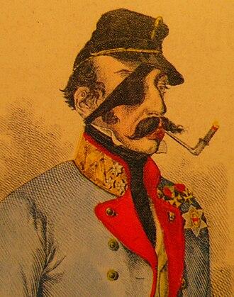 First Battle of Komárom (1849) - Franz Schlik
