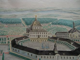 Fredensborg Palace - Fredensborg in 1728