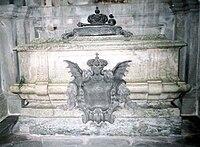 Frederick I of Sweden grave 2007.jpg