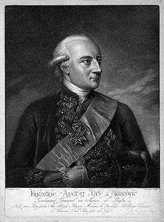 Frederick Augustus, Prince of Brunswick-Wolfenbüttel-Oels Duke of Oels and Bernstadt