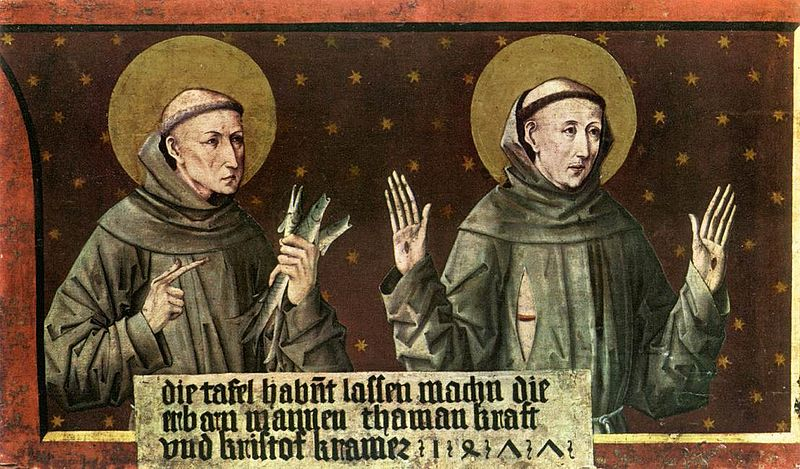 File:Friedrich Pacher - St Anthony of Padua and St Francis of Assisi - WGA16806.jpg