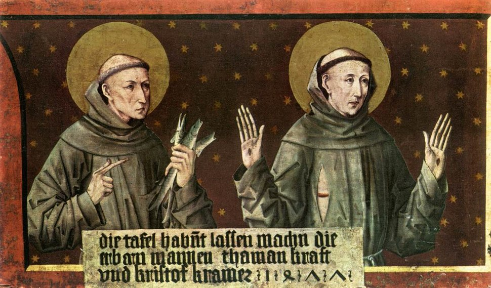 Friedrich Pacher - St Anthony of Padua and St Francis of Assisi - WGA16806