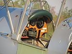 Front cockpit of the De Havilland Tiger Moth at Coomalie Creek Airfield during the 2012 Merlin Magic.jpg