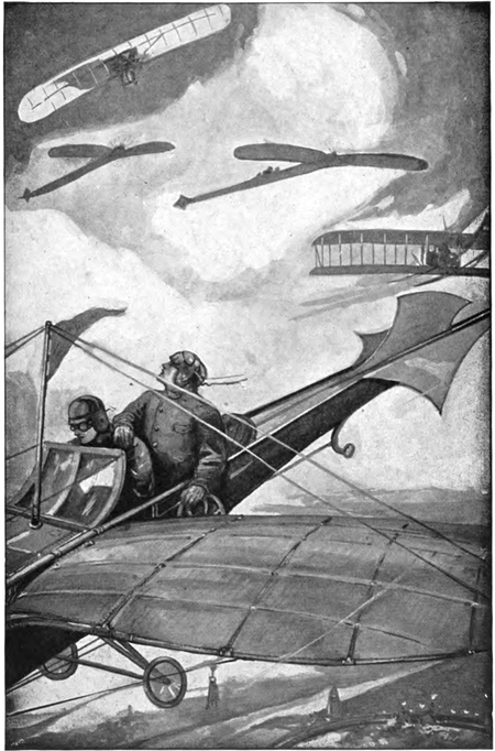 Tom Swift and his sky racer-frontispiece
