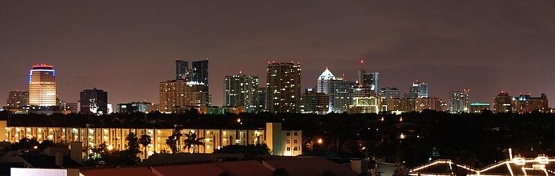 File:Ft Lauderdale Skyline.jpg