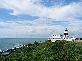 the northernmost point on Taiwan