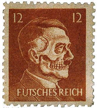 Philatelic fakes and forgeries - American propaganda stamp
