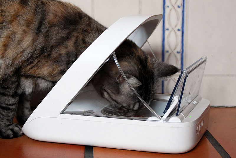 Chip Controlled Cat Litter Trays