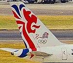 G-BMRC B757-236 BA (Olympic) LHR 11AUG99 (6628805571) (cropped).jpg