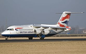 BA CityFlyer - The BA CityFlyer Avro RJ100 involved in the February 2009 incident