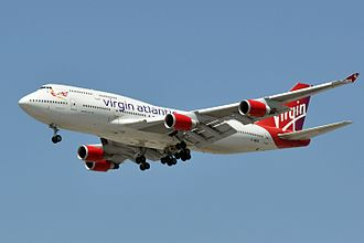 Virgin Galactic - LauncherOne will be launched from this former Virgin Atlantic Boeing 747, named Cosmic Girl.