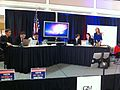 GMU Mason Votes MasonVotes Election Night Panel (8167204368).jpg
