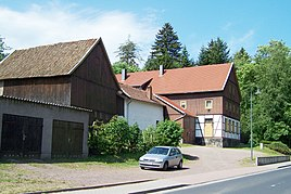 Alte Mühle am Ortsrand