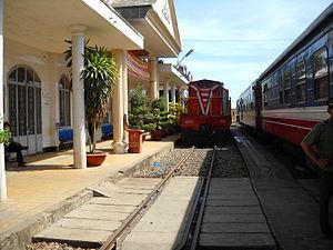 Bình Thuận railway station - Mương Mán railway station