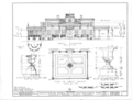 Gaineswood, 805 South Cedar Street, Demopolis, Marengo County, AL HABS ALA,46-DEMO,1- (sheet 5 of 25).png