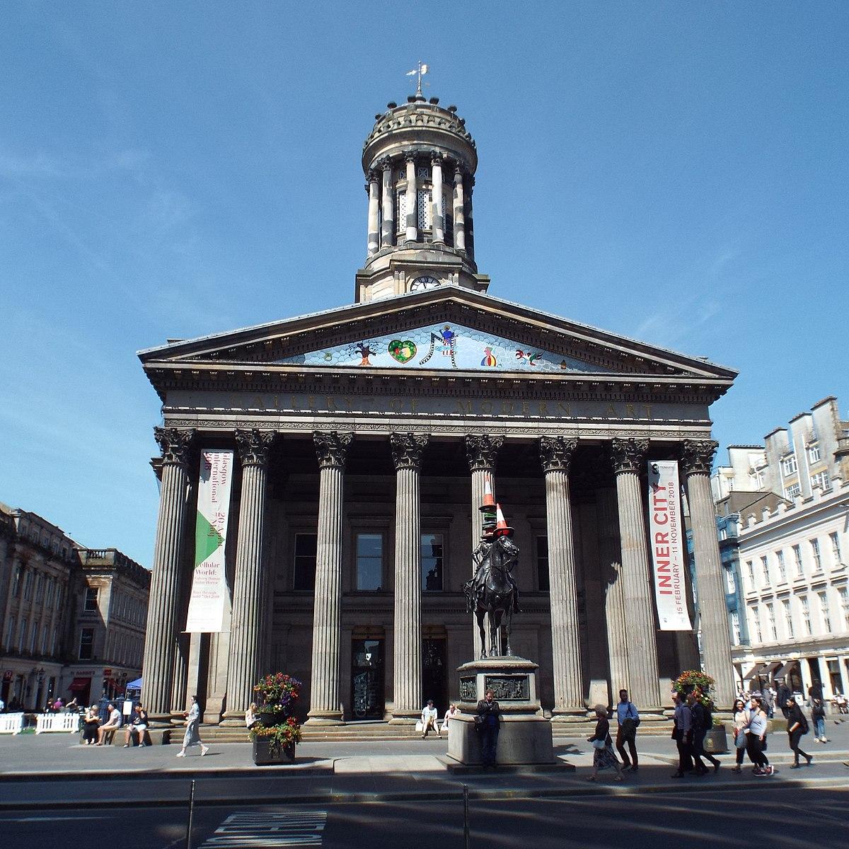Datei:Gallery of Modern Art, Glasgow, front view, 2018-06 ...