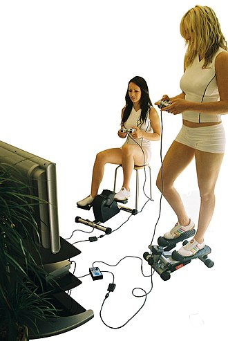 Exergaming - Gamercize played on PlayStation 2