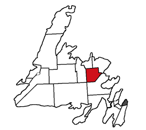 Gander (electoral district) - Image: Gander