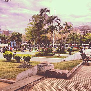 Paraguayan architecture - Garden of downtown