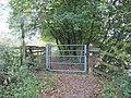 Gate on the path - geograph.org.uk - 1566057.jpg