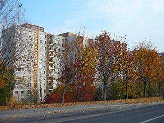 Gazdagrét - Gazdagrét houses in the autumn