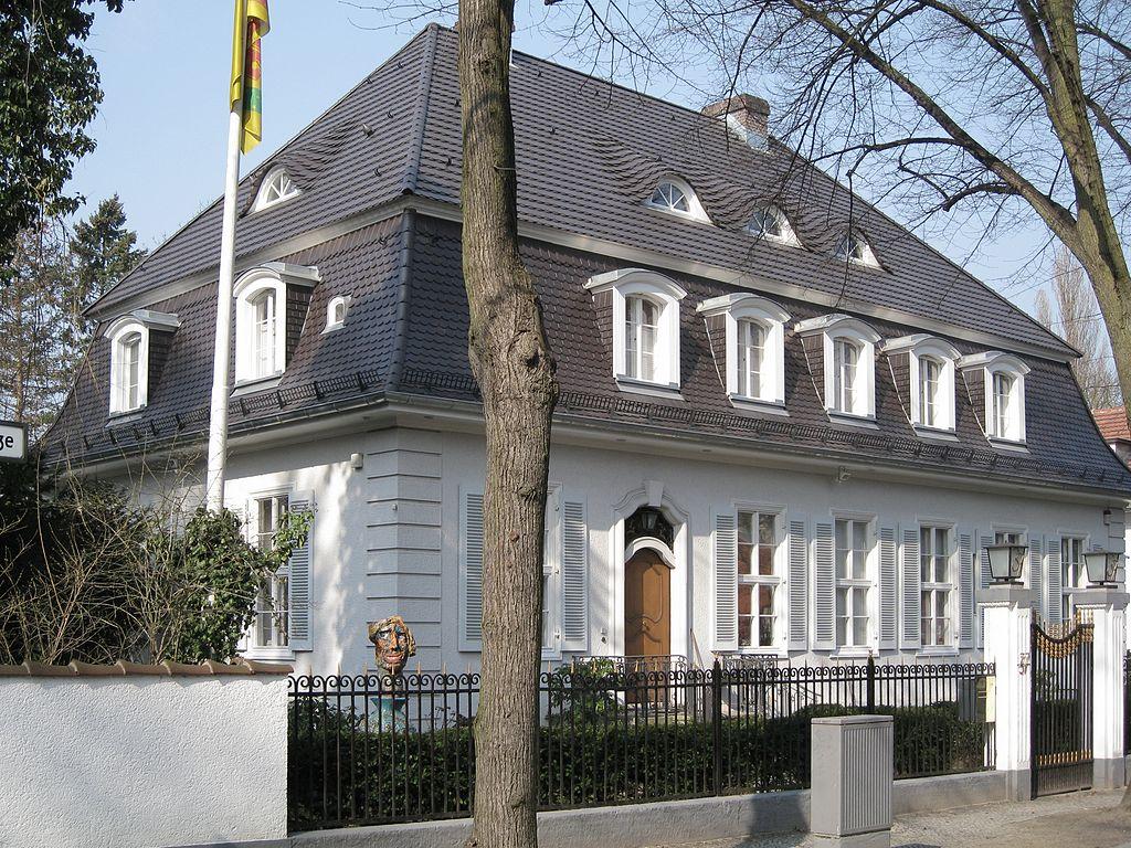 Dahlem berlino berlino share the knownledge for Architektenhaus berlin